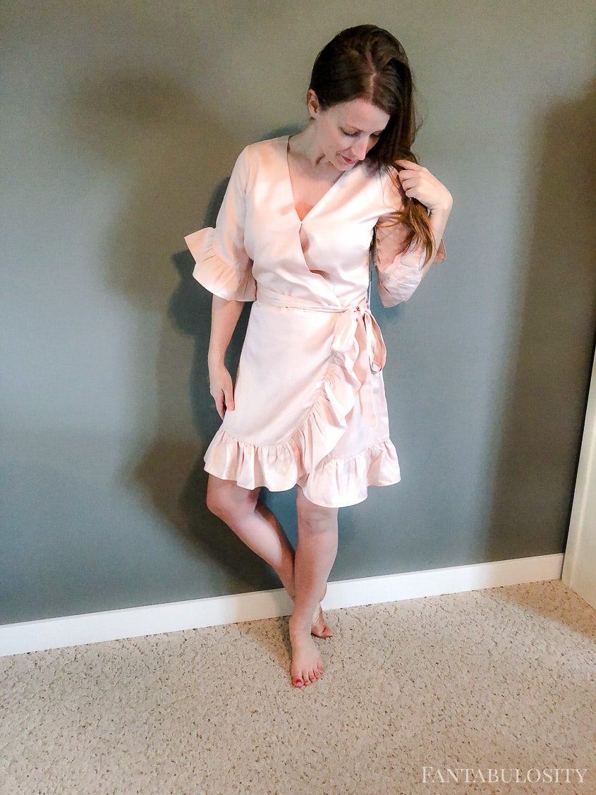 Pink Ruffle Dress from Nordstrom - Trunk Club April 2018