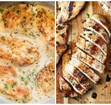 Boneless Chicken Breast Recipes - Easy for Dinner