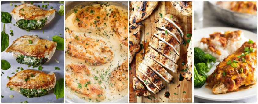 Boneless Chicken Breast Recipes - Easy for Dinner