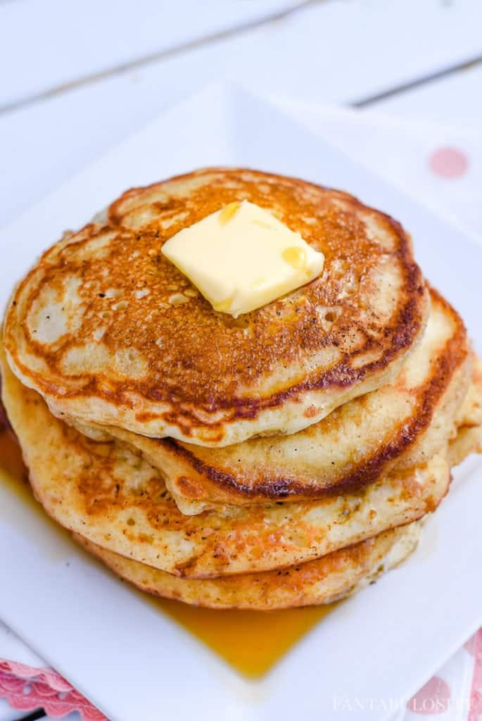 Easy Homemade Pancakes