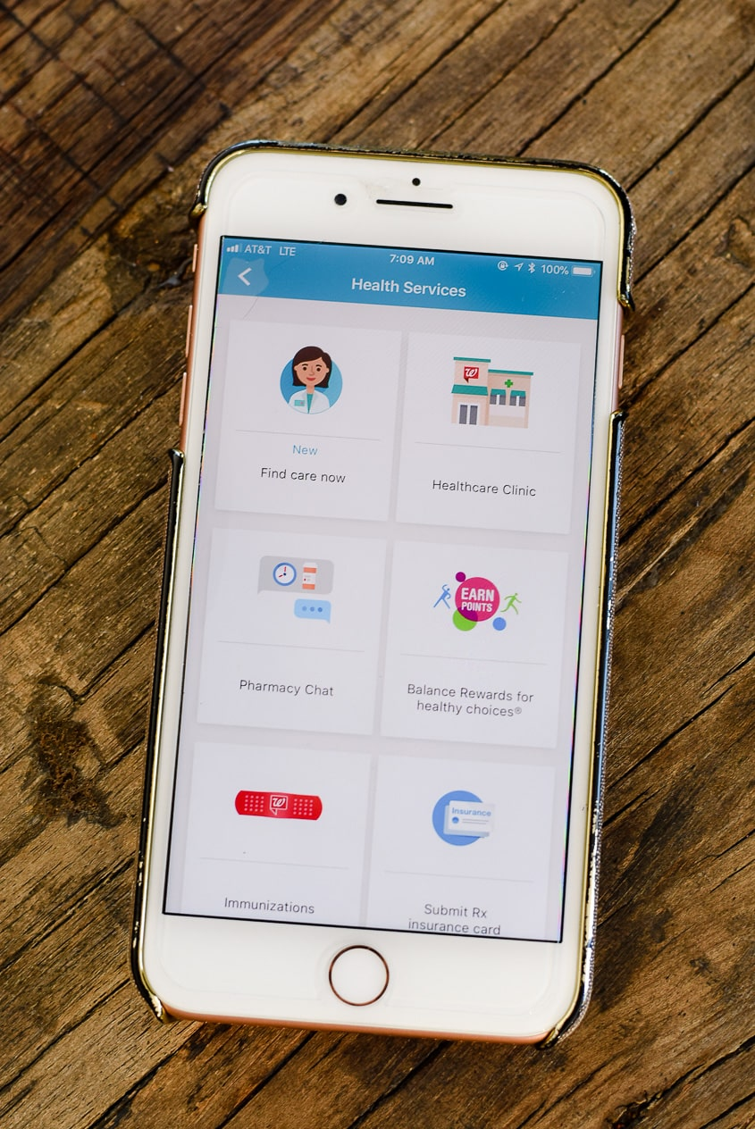Walgreens app review - health services