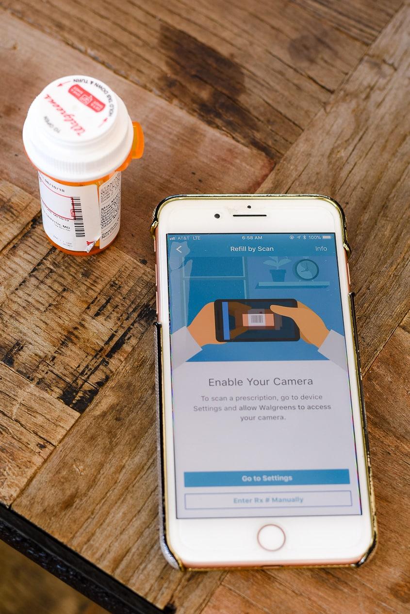 Walgreens app and life saving phone tricks