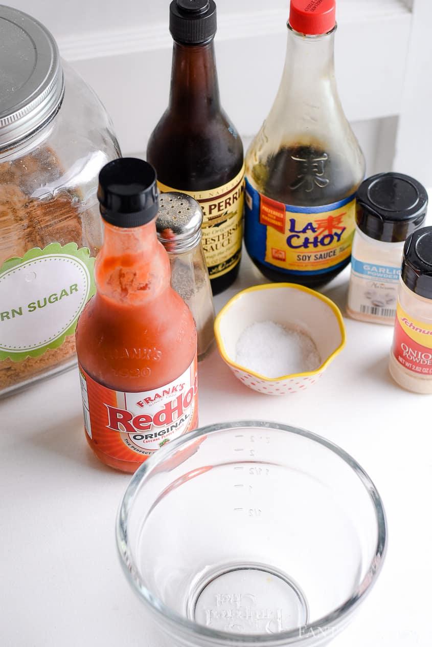 Deer meat marinade recipe soy sauce, hot sauce, brown sugar
