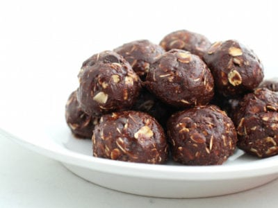 Energy Bites - Chocolate Peanut Butter No Bake