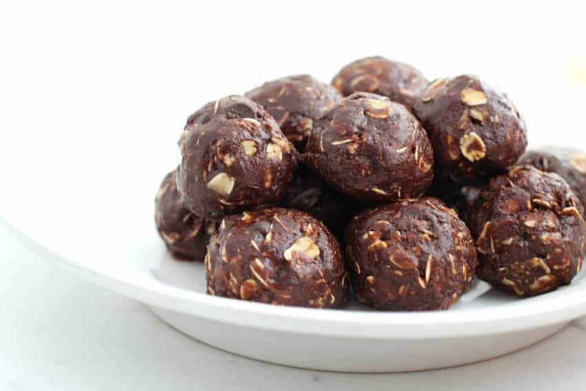 Energy Bites - Chocolate Peanut Butter No Bake