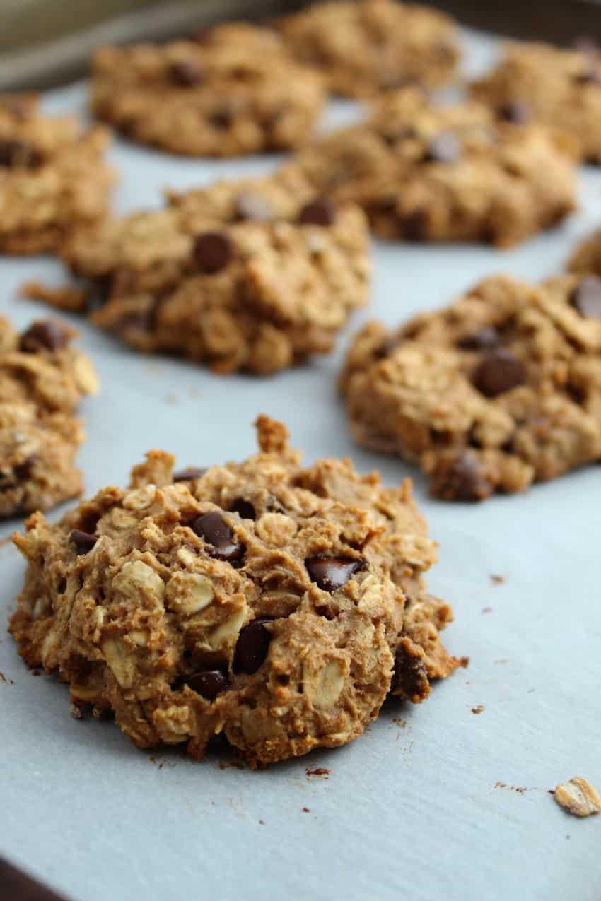Oatmeal Breakfast Cookies - Healthy Gluten Free Recipe