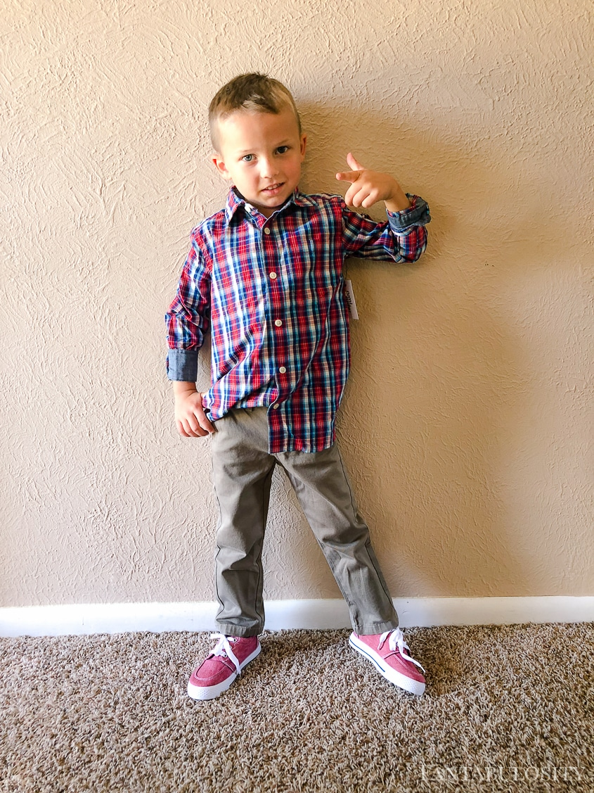 Stitch Fix Kids July 2018 Review for boys