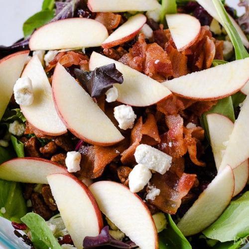 Apple Raspberry Salad Recipe - Easy Side Dish Idea