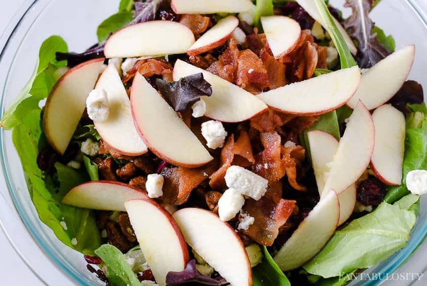 Apple Salad Recipe - Easy Side Dish Idea