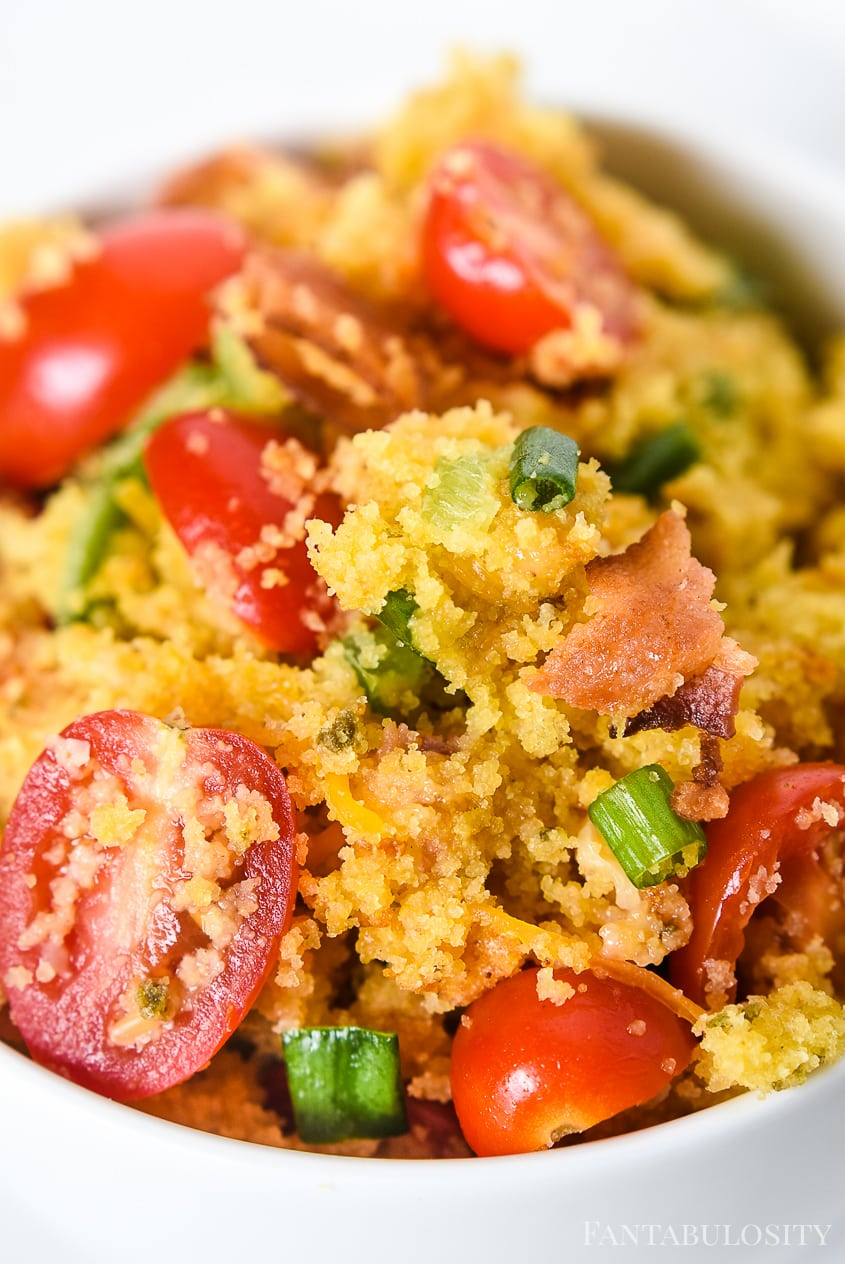 How do you make cornbread salad