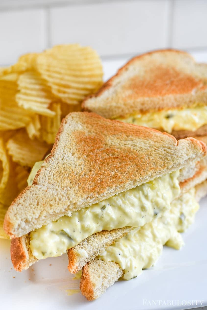 Egg Salad - Egg salad recipe for a sandwich