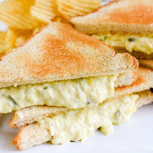 Egg salad recipe - sandwich