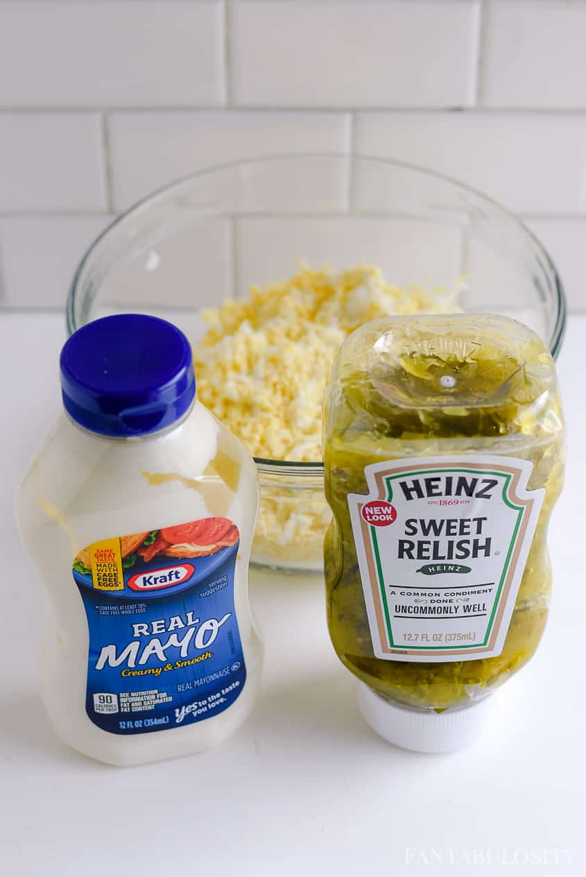 Egg salad recipe - great for sandwiches and the best!
