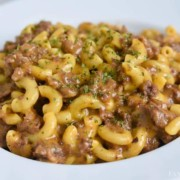 Cheeseburger Macaroni in the Instant Pot