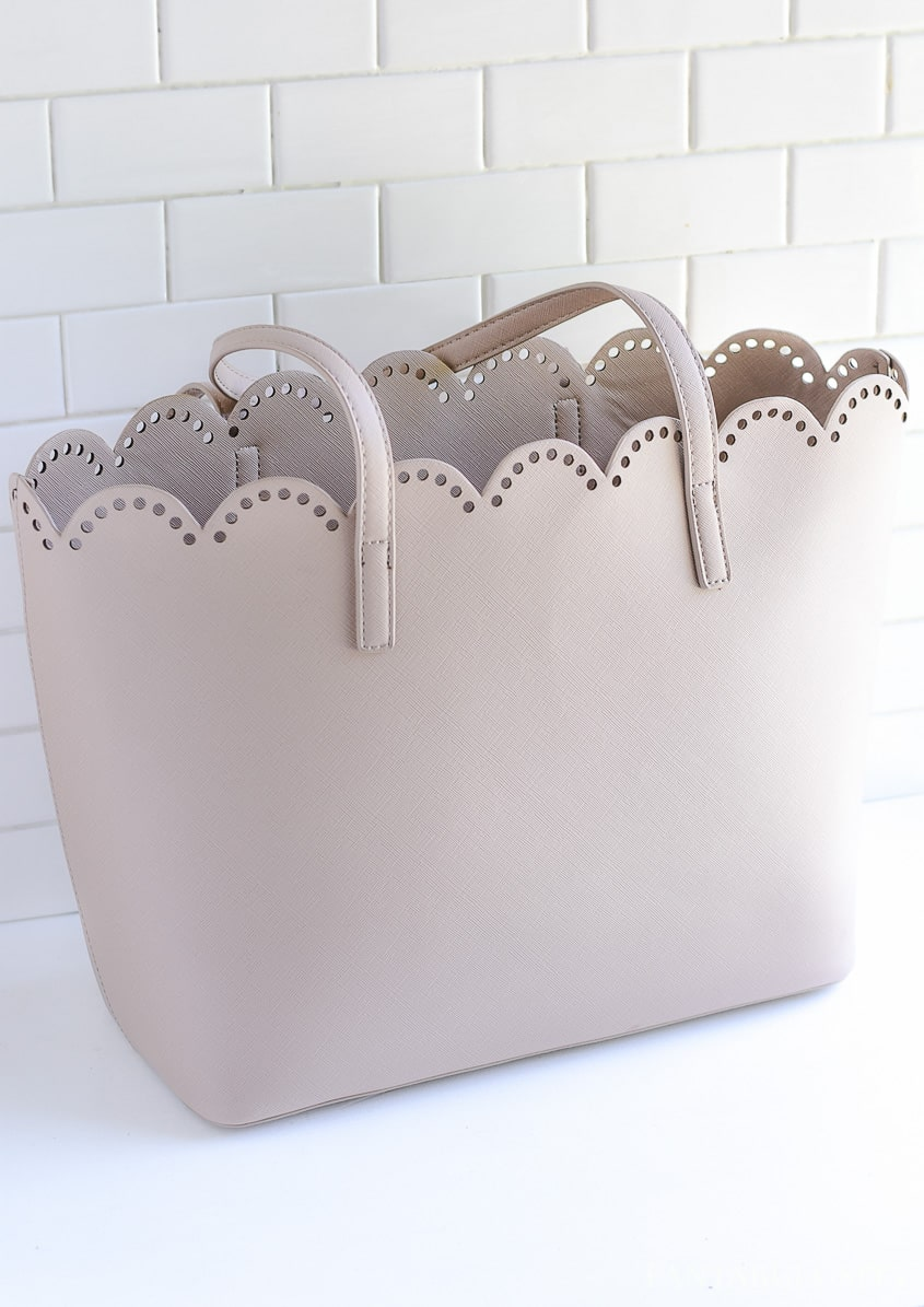 Purse from Nordstrom - How to organize a handbag