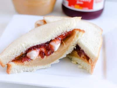 School lunch ideas - pb&j