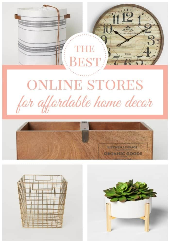 The best online stores for affordable home decor