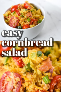 easy cornbread salad recipe without beans