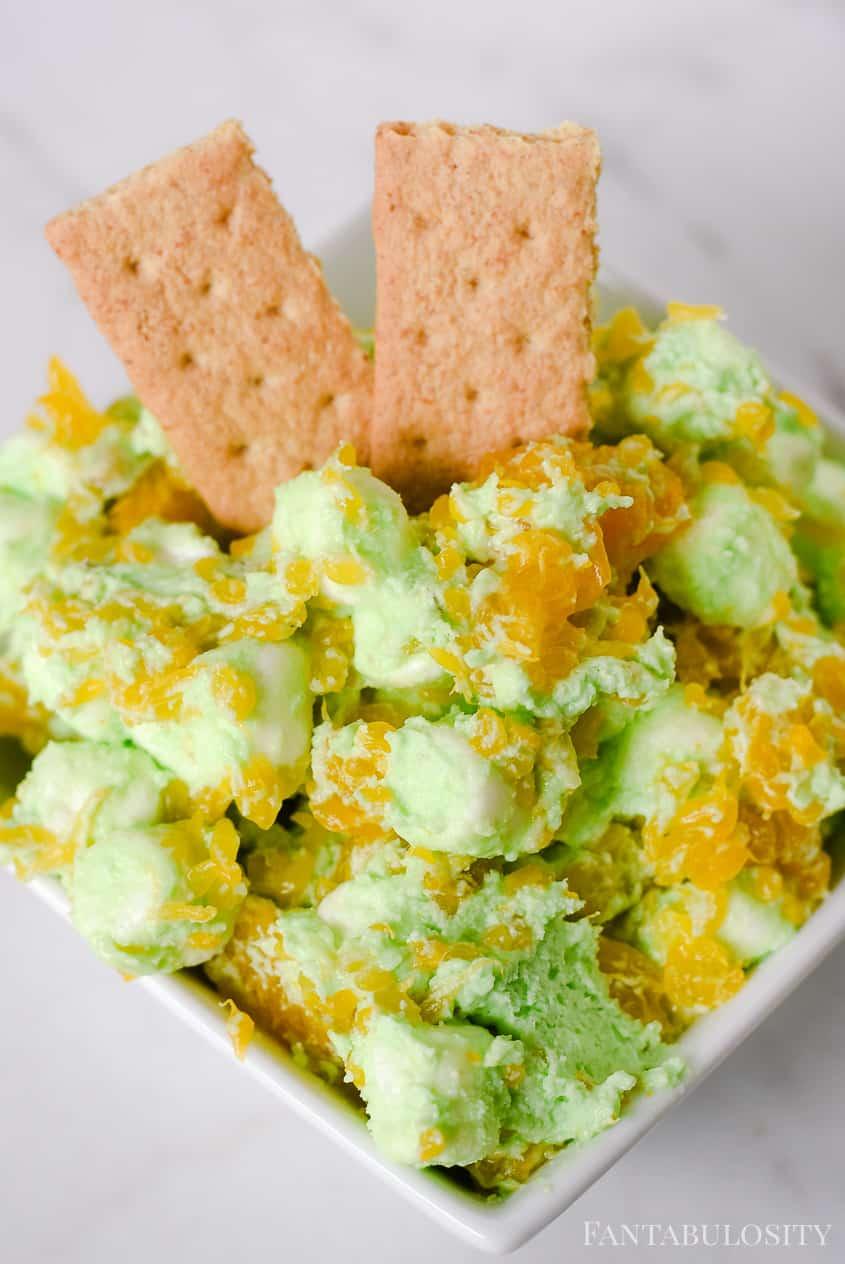 Pistachio Salad Recipe - fruit, pudding mix, marshmallows