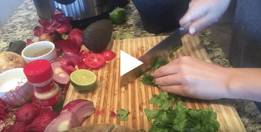 Video on how to make guacamole