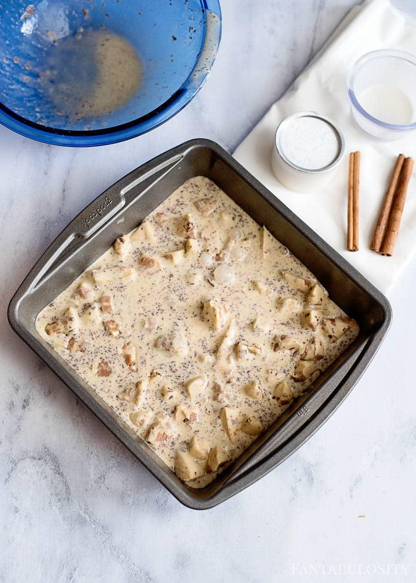 Cinnamon Roll Casserole - Breakfast bake