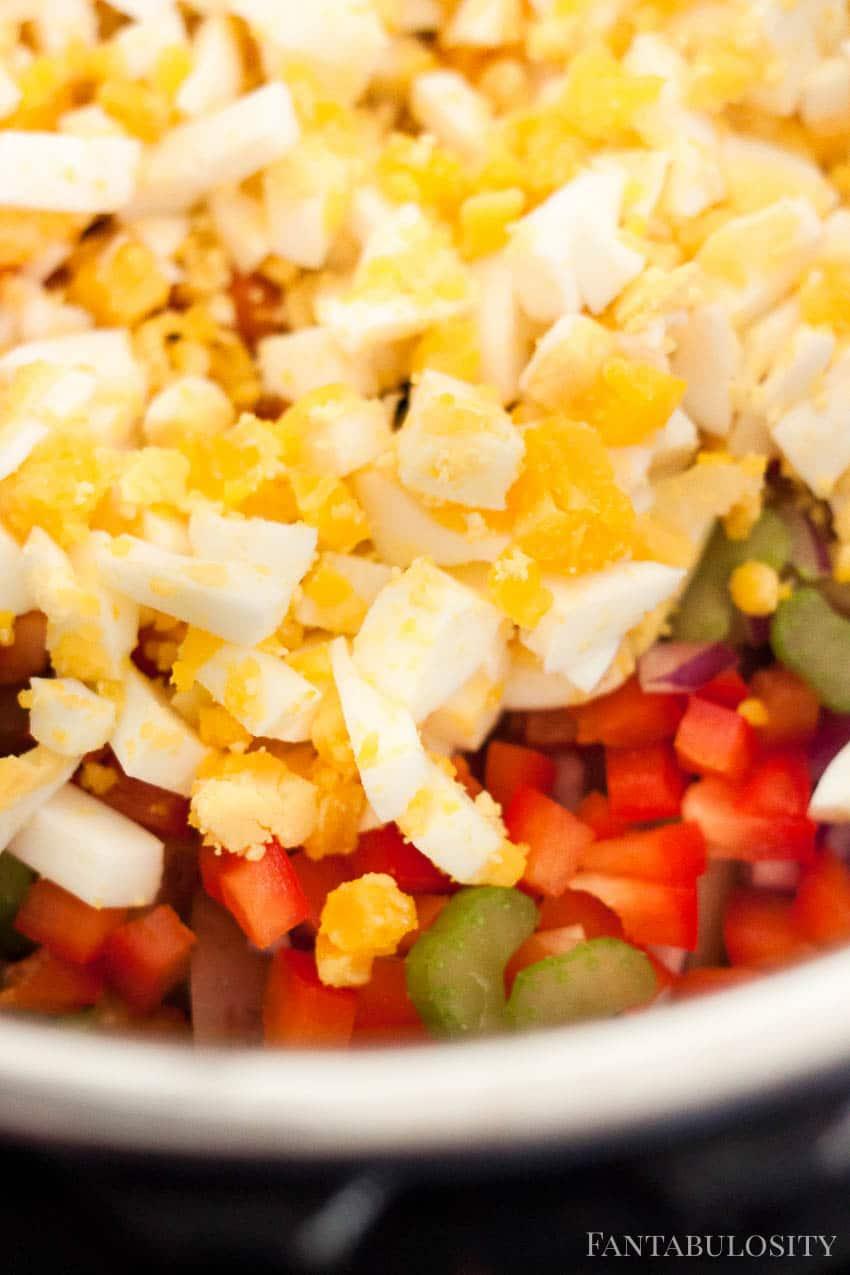 Instant Pot Amish Potato Salad