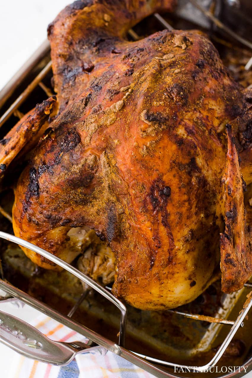 How to bake a whole turkey in the oven