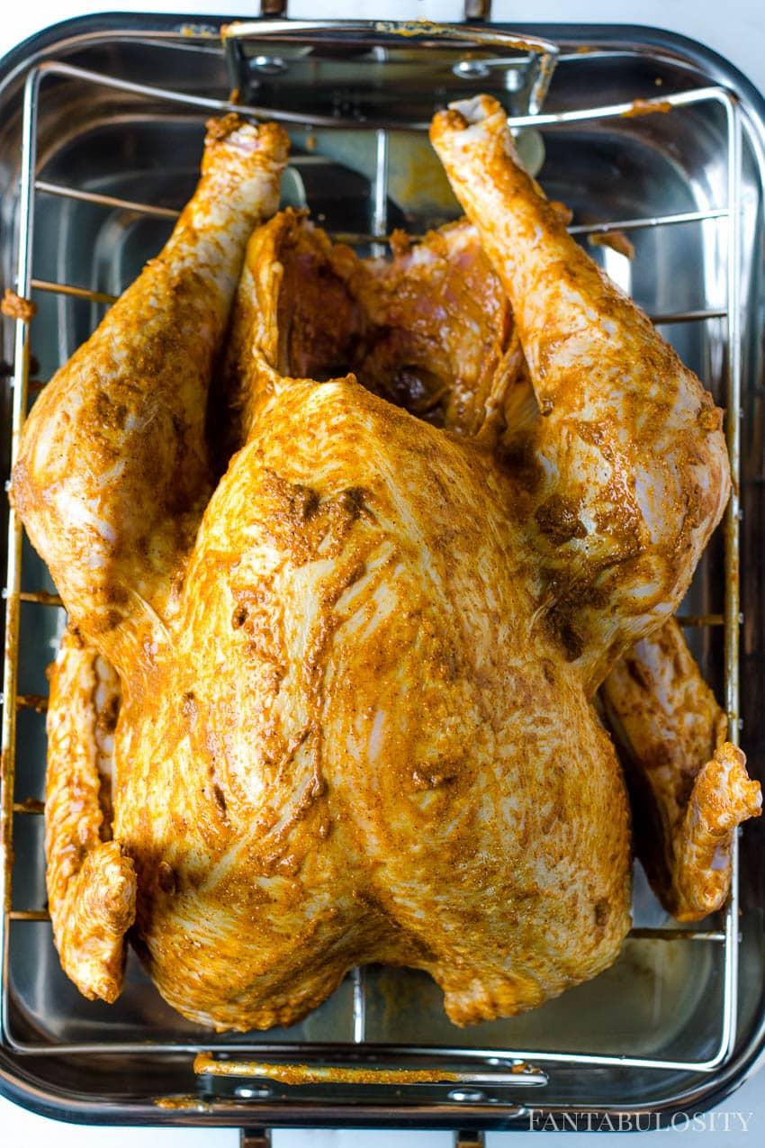 Crispy skin recipe for whole turkey
