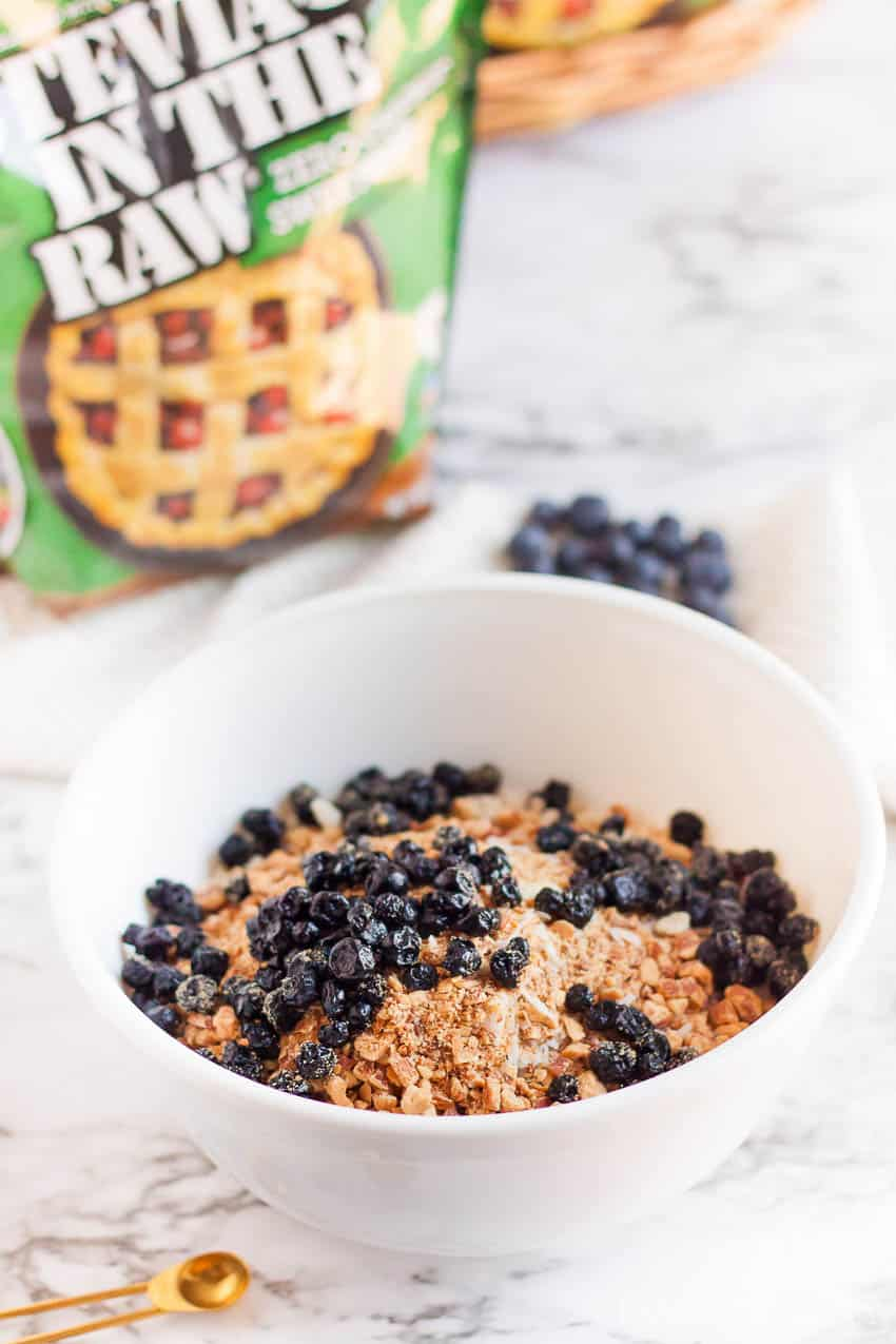 Healthy granola bars made with stevia in the raw
