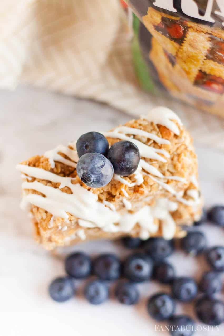Top with those blueberries - stevia recipe