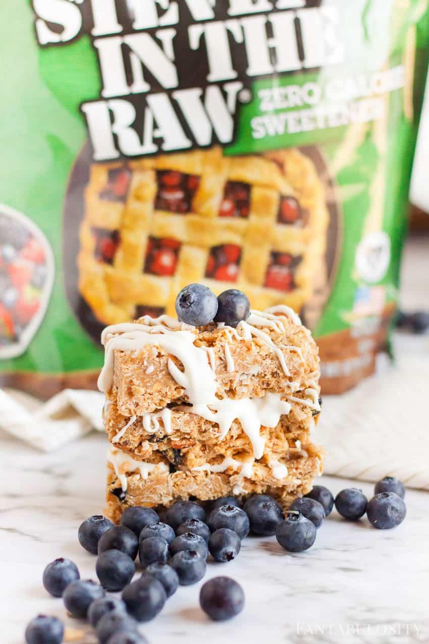 Made with Stevia - granola bar recipes