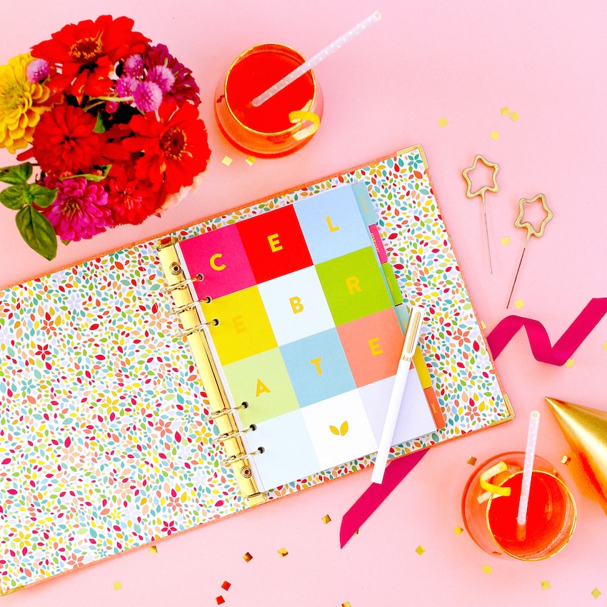 Celebrations Binder - Cultivate what Matters with Lara Casey