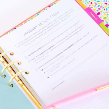 Celebrations Binder by Cultivate What Matters