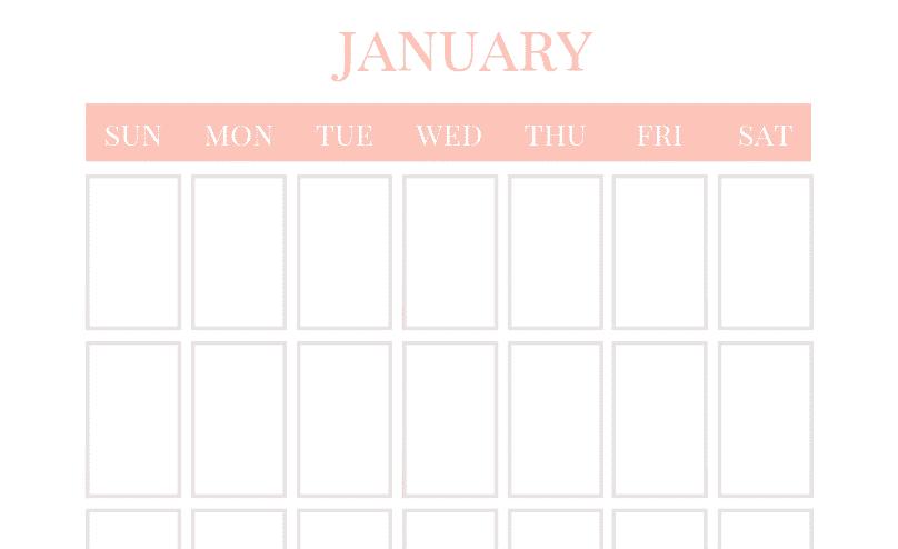 photo about Vertical Calendar Printable identified as Blank Calendar - Totally free Vertical Regular Calendar Printable