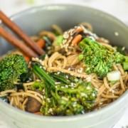 Noodle Bowl - Vegan Recipe & Veggies