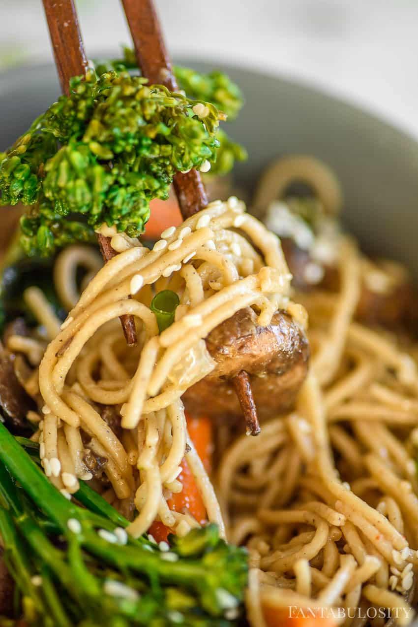 Noodle Bowl - veggie recipe