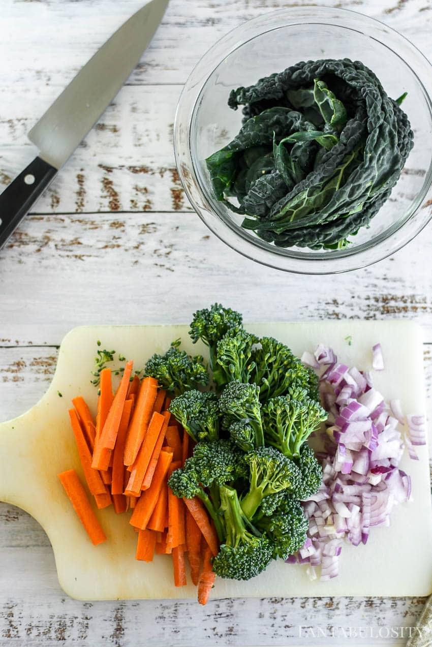 Noodle Bowl - Veggie Recipe Vegan