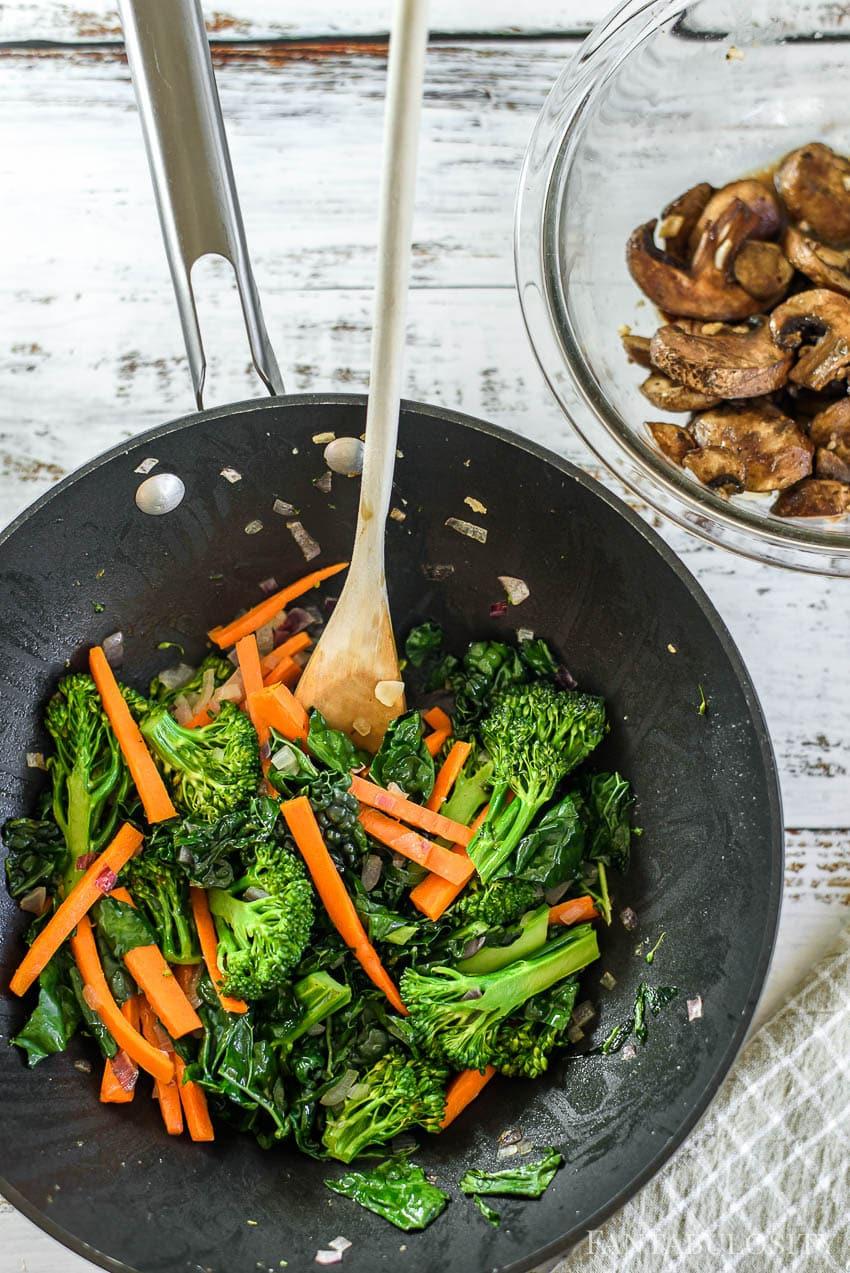 Veggie bowl recipe that's vegan