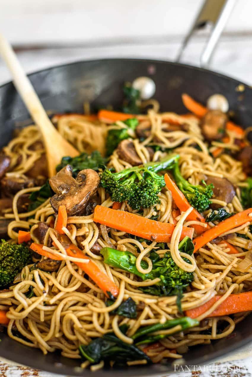 Noodle Bowl - Vegan veggie recipe