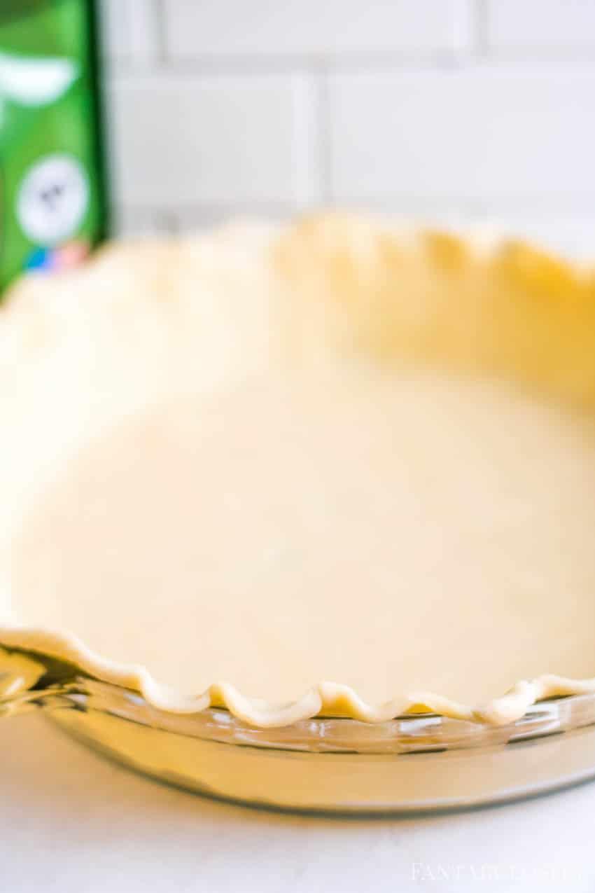 Pie crust for pecan pie