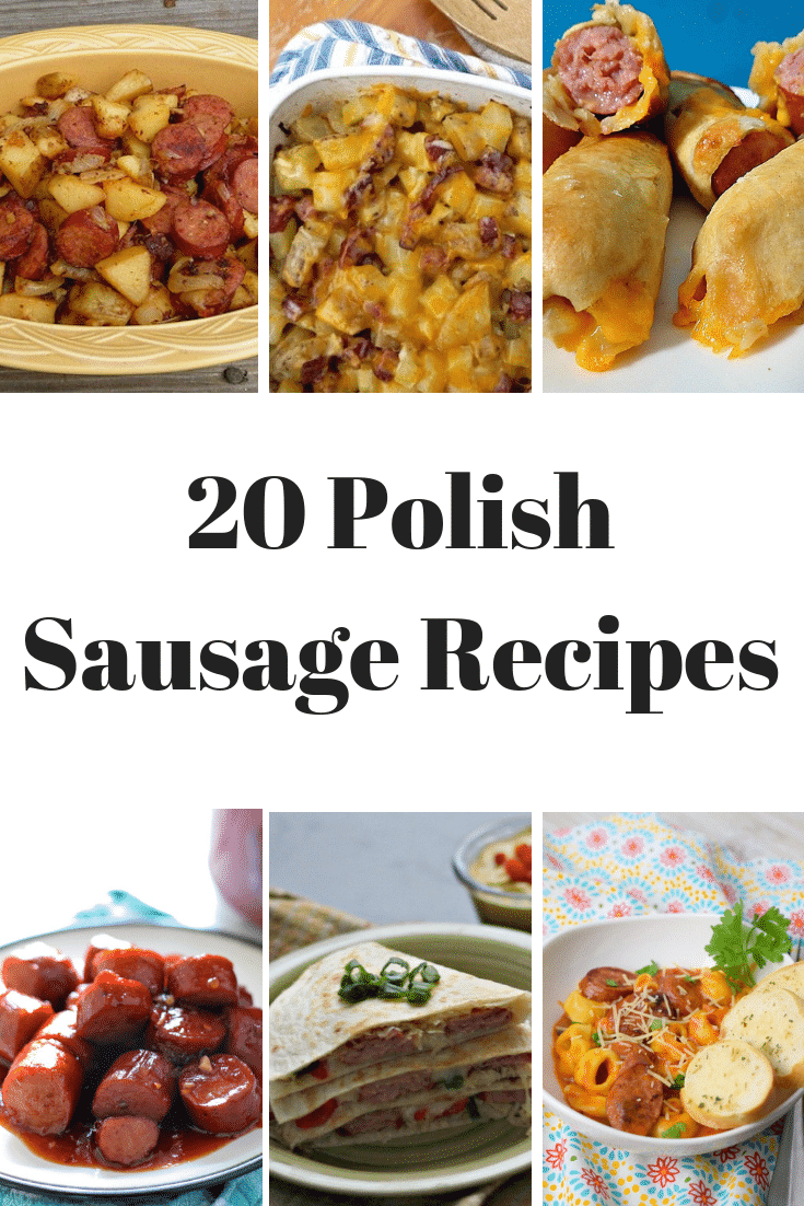 Mmm!!!! 20 Polish Sausage Recipes to choose from!