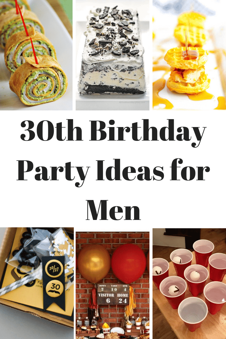 This list of 30th birthday party ideas for men is so helpful !