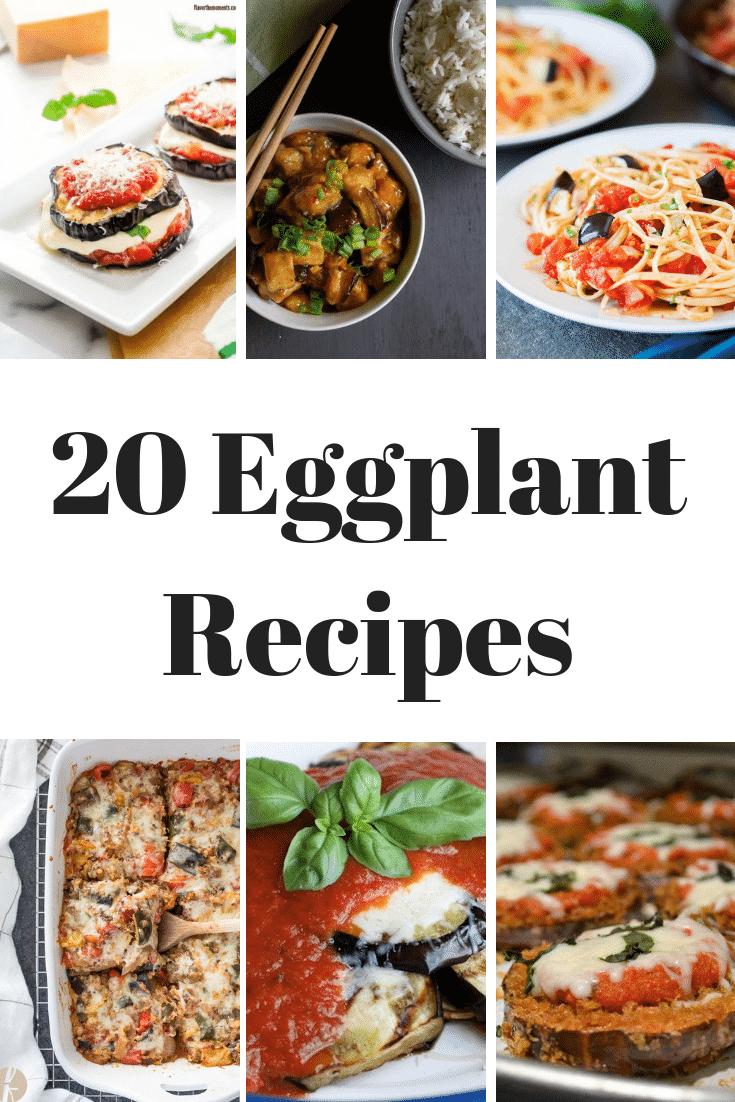 YUMM-O!!! 20 Eggplant Recipes