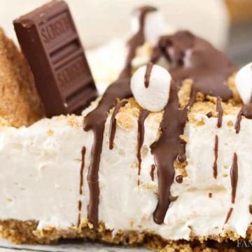 Smores Cheesecake - No Bake Recipe