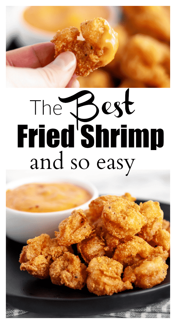 This shrimp batter is so easy and is SO good!