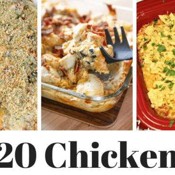 20 chicken casserole recipes