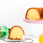 You only need 6 ingredients to whip up this 7UP Pound Cake. Dense in texture and light and bright in flavor, this cake will become your new favorite spring dessert.