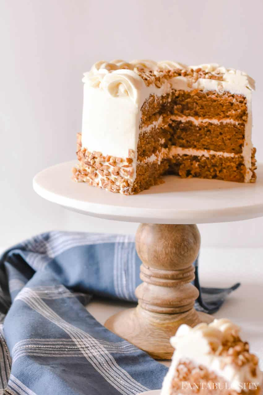 Carrot Cake from Scratch - Easy