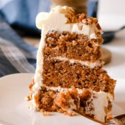 Carrot Cake Recipe from Scratch - Easy and SO good!