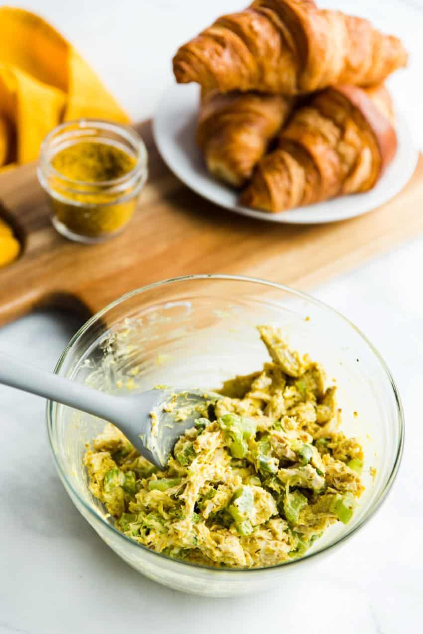 Curry Chicken Salad Sandwiches, Chicken Salad Recipe, Fantabulosity, Easy Lunch Recipe
